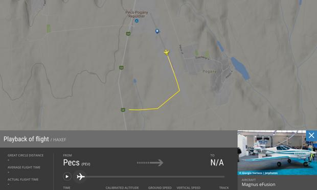 Угорщина літак аварія