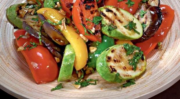салат рецепти баклажан