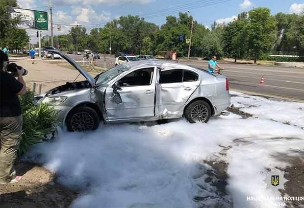 Дніпро аварія зупинка