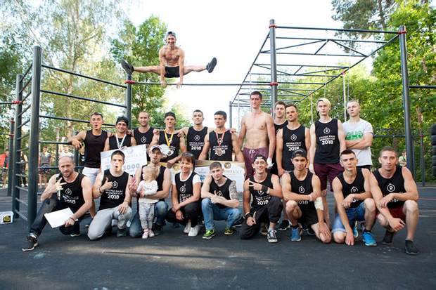 Бровари, воркаут, спорт, Krona Park Workout Сup 2018