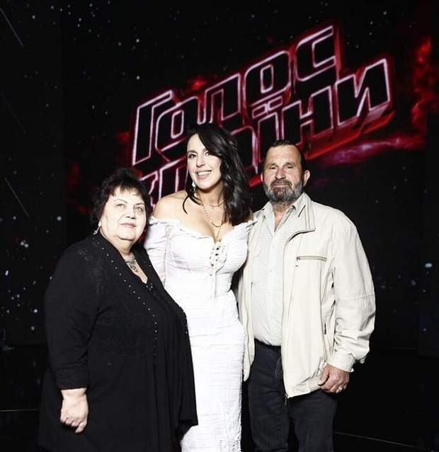 джамала з батьками