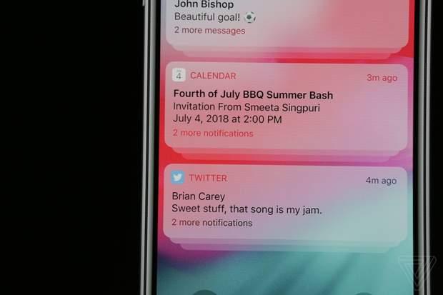 Apple змінила алгоритми групування сповіщень із додатків