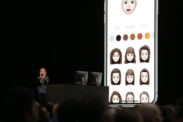 Apple представила Memoji