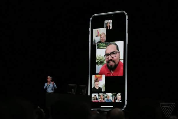 Apple представила групові дзвінки у вбудованому додатку для комунікації