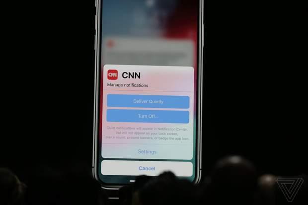 Apple змінила режим
