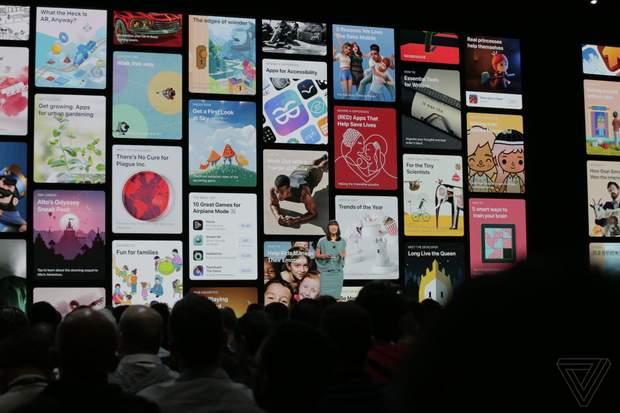 Презентували новий дизайн магазину в macOS Mojave