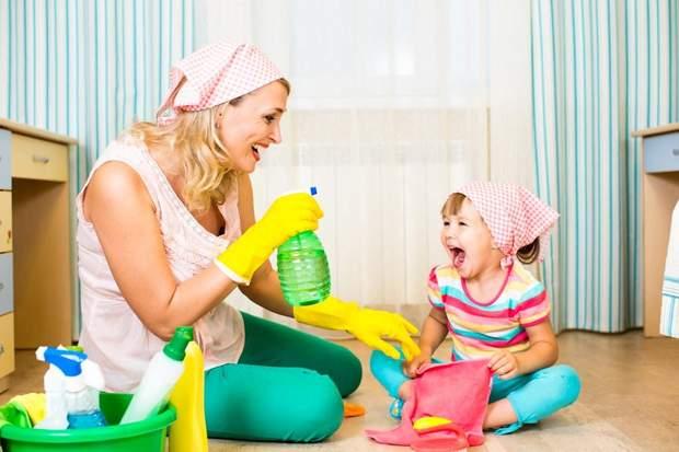 Коли малюк почне вимагати груди – залучайте його до виконання побутових справ