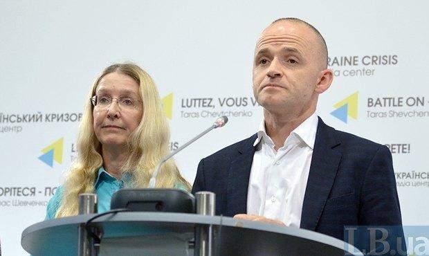 Уляна Супрун і Олександр Лінчевський