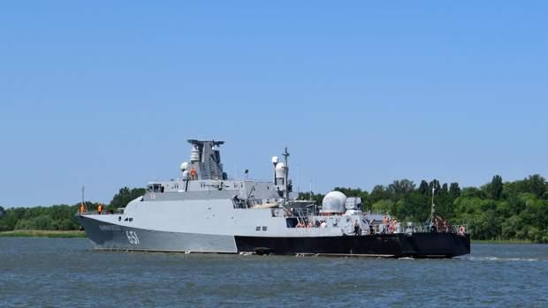 """Росія кораблі Чорне море """"Великий Устюг"""""""