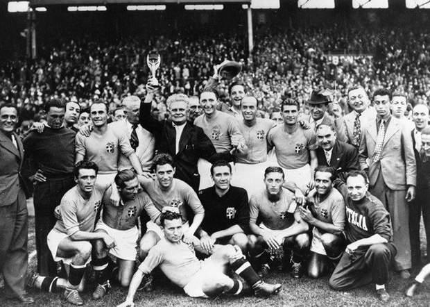Збірна Італії – чемпіон світу 1938 року