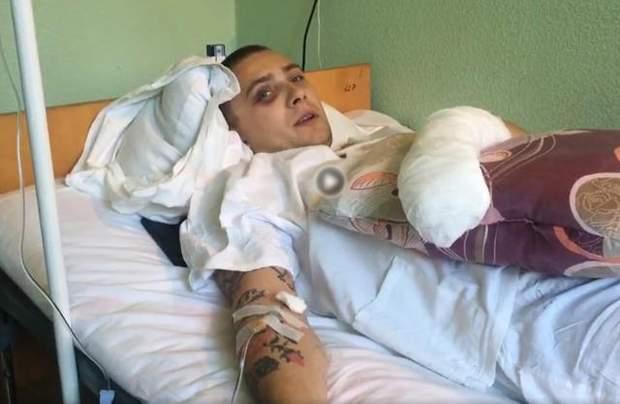 Сергій Стерненко після нападу