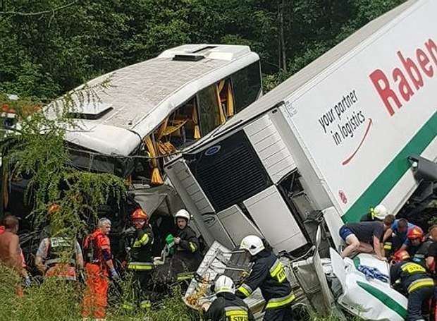 Аварія Польща діти