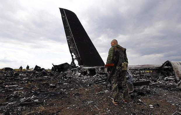 Загибель десантників під час збиття ІЛ-76