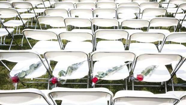 Протест родичів жертв МН17