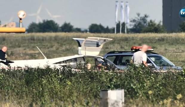Польща літак аварія Україна