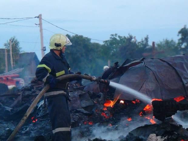 Пожежа церква Прикарпаття Івано-Франківськ
