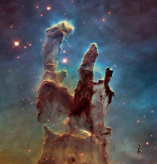 Стовпи Творіння (фото зроблене телескопом Hubble)