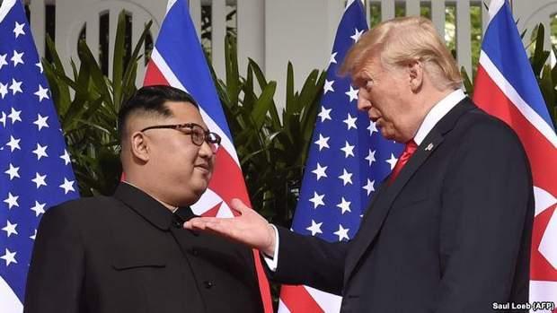 Зустріч Трампа і Кім Чен Ина