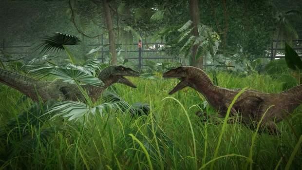 Скріншот з гри Jurassic World: Evolution