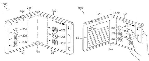 Гнучкий смартфон Samsung