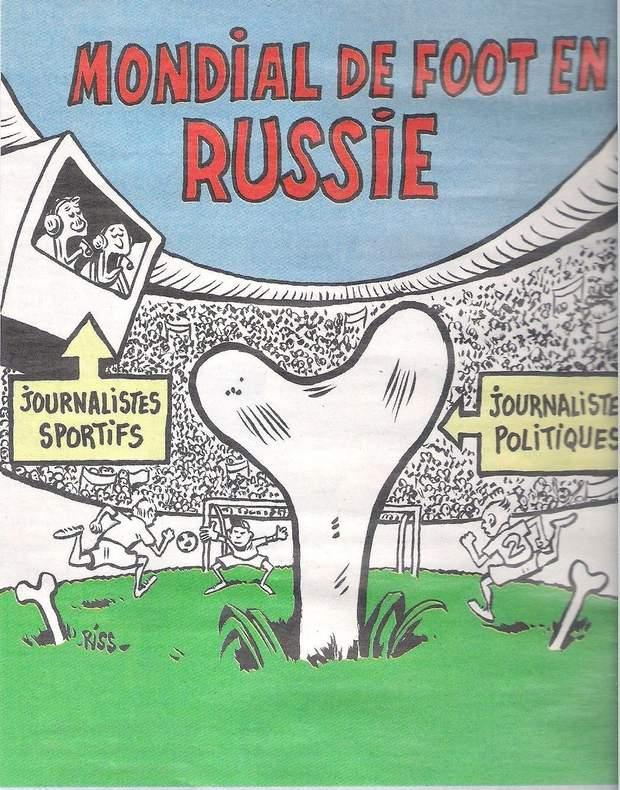 Charlie Hebdo, Росія, футбол, чемпіонат світу, Мундіаль,вбивства, журналісти, злочини, агресія, Кремль