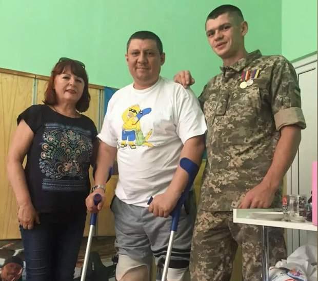 Ветеран АТО Дмитро Котов в госпіталі