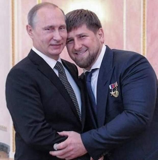 Путін з Кадировим