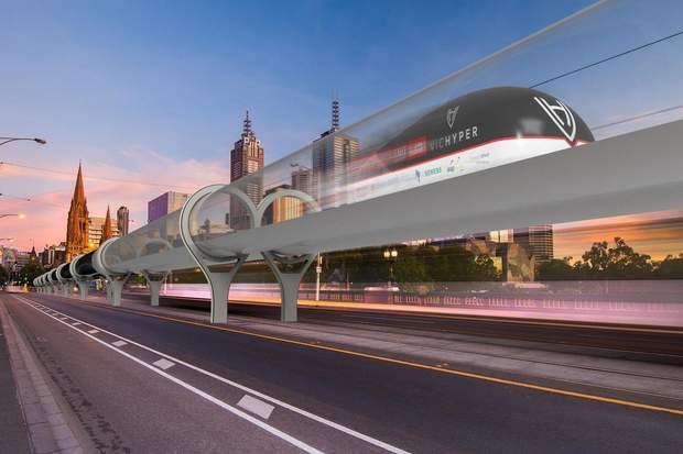 Так будуть виглядати потяги Hyperloor