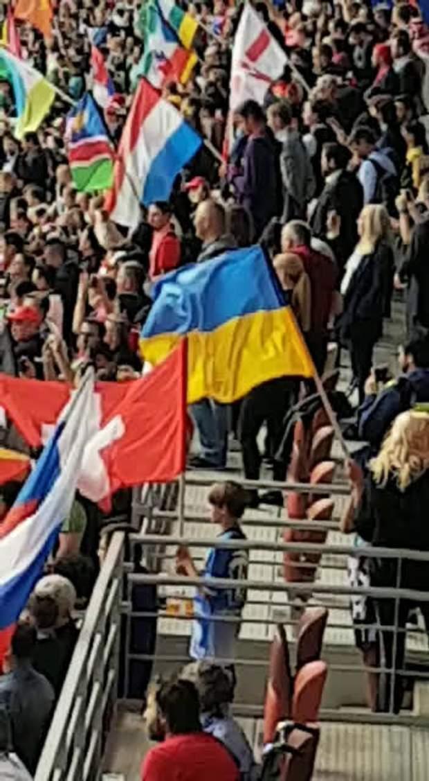 Прапор України на ЧС-2018