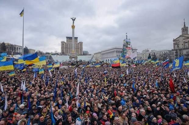 Начало Майдана