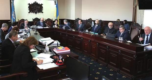 Засідання ВККС