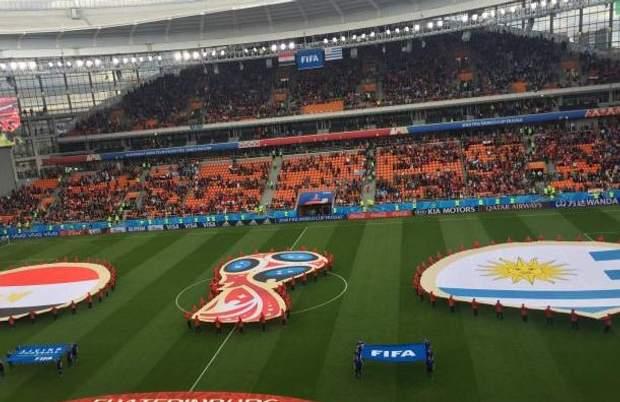 ЧС-2018. Незаповнений стадіон у Єкатеринбурзі