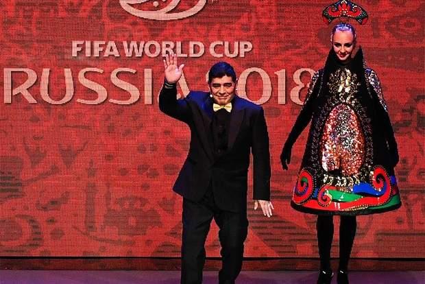 Дієго Марадона у Москві