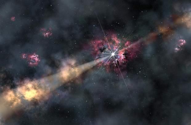 Народження джета зафіксоване телескопом Hubble