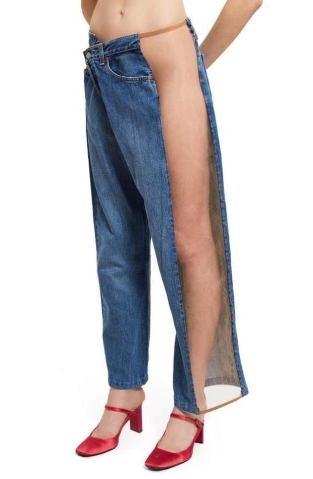 джинси які потрібно носити без білизни