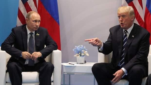Путін Трамп Сенцов