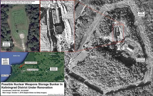Росія ядерна зброя сховище