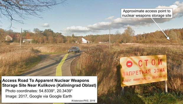 Росія ядерна зброя сховище бункер Калінінград