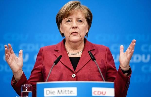 Немецкий канцлер Ангела Меркель