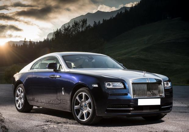 Автомобіль Rolls-Royce, що записаний на 74-річну свекруху Заброварної