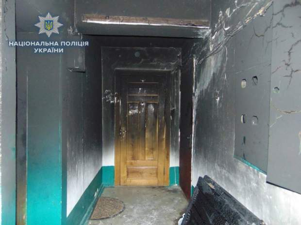 Поліція Рівне пожежа підпал