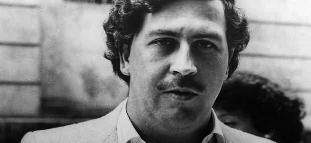 Колумбійський наркобарон Пабло Ескобар