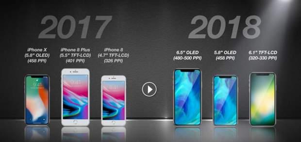 Концепти нових iPhone 2018 року