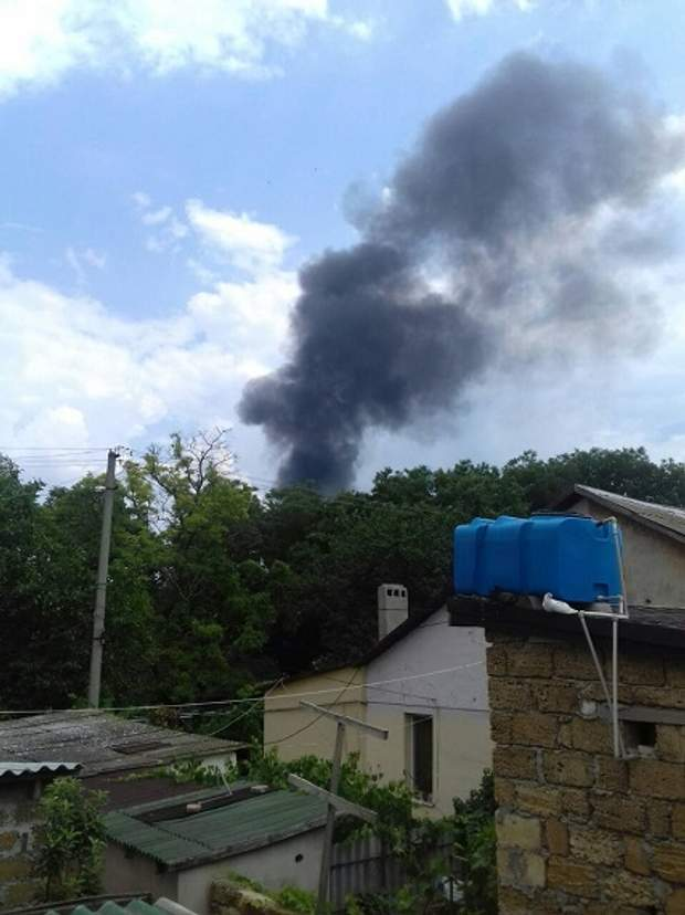 пожежа Крим