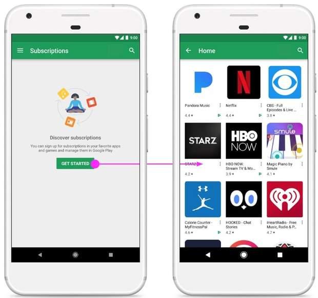 Google запустила новий додаток для свого магазину додатків Play