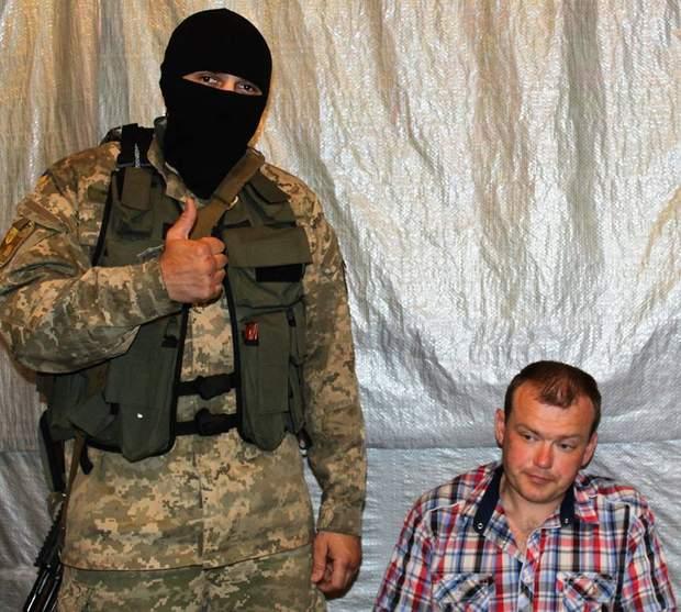 Бійці 93-ї ОМБр схопили екс-офіцера ЗСУ Олексія Бідусенка