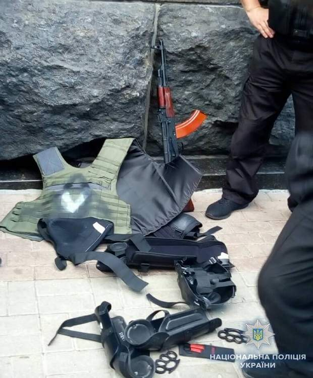 поліція Київ зброя підліток