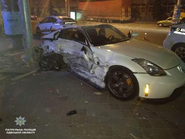 аварії, ДТП, Nissan