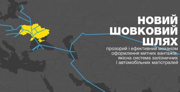 Новий шовковий шлях в Україні