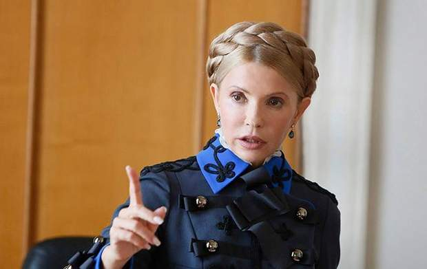 Народная депутатка Юлия Тимошенко